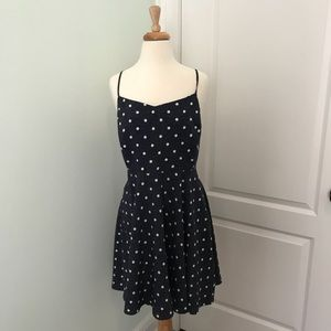 NWT Old Navy Navy blue with white dots size Large